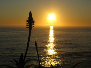 Sunset at Laguna Beach, California