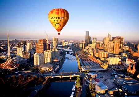 Image result for image hot air balloon melbourne